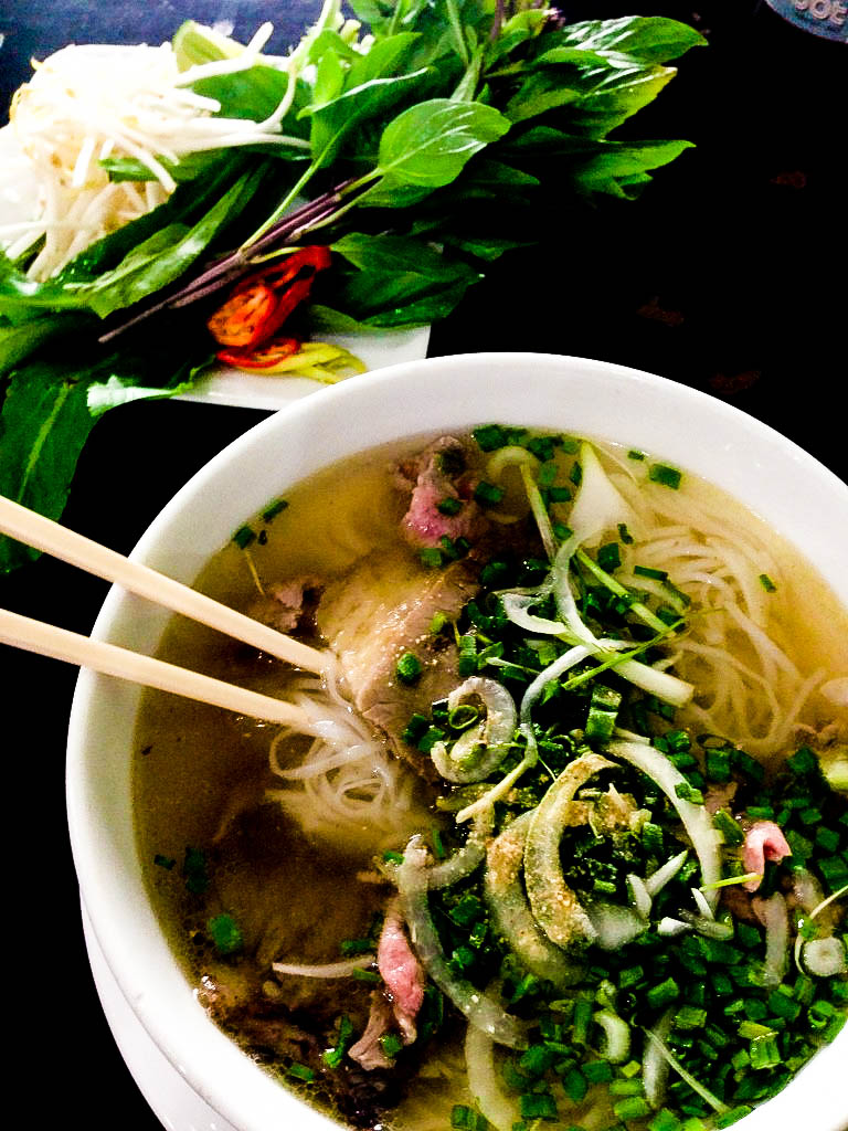 Delicious Pho. I think this costed me like $1.60