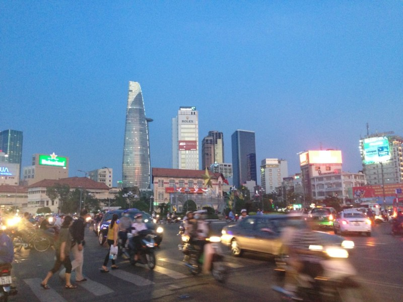 Saigon downtown