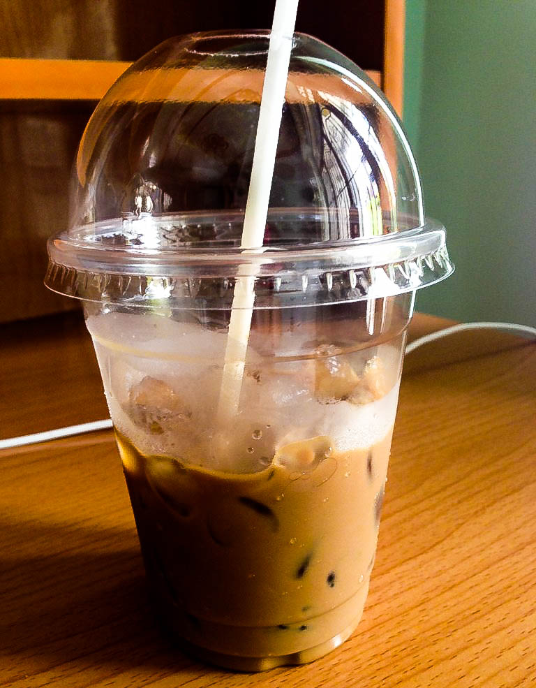 Oh Vietnamese coffee. I have dreams about it. So rich and strong and sweet, all at the same time.